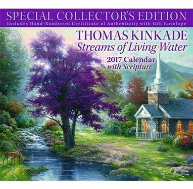 Thomas Kinkade Collector's 2017